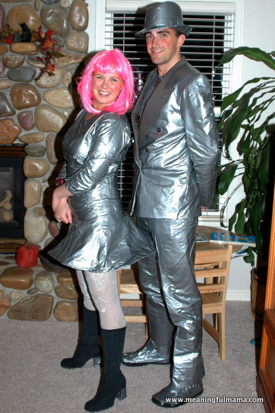 11 Homemade Halloween Costume Ideas for Couples