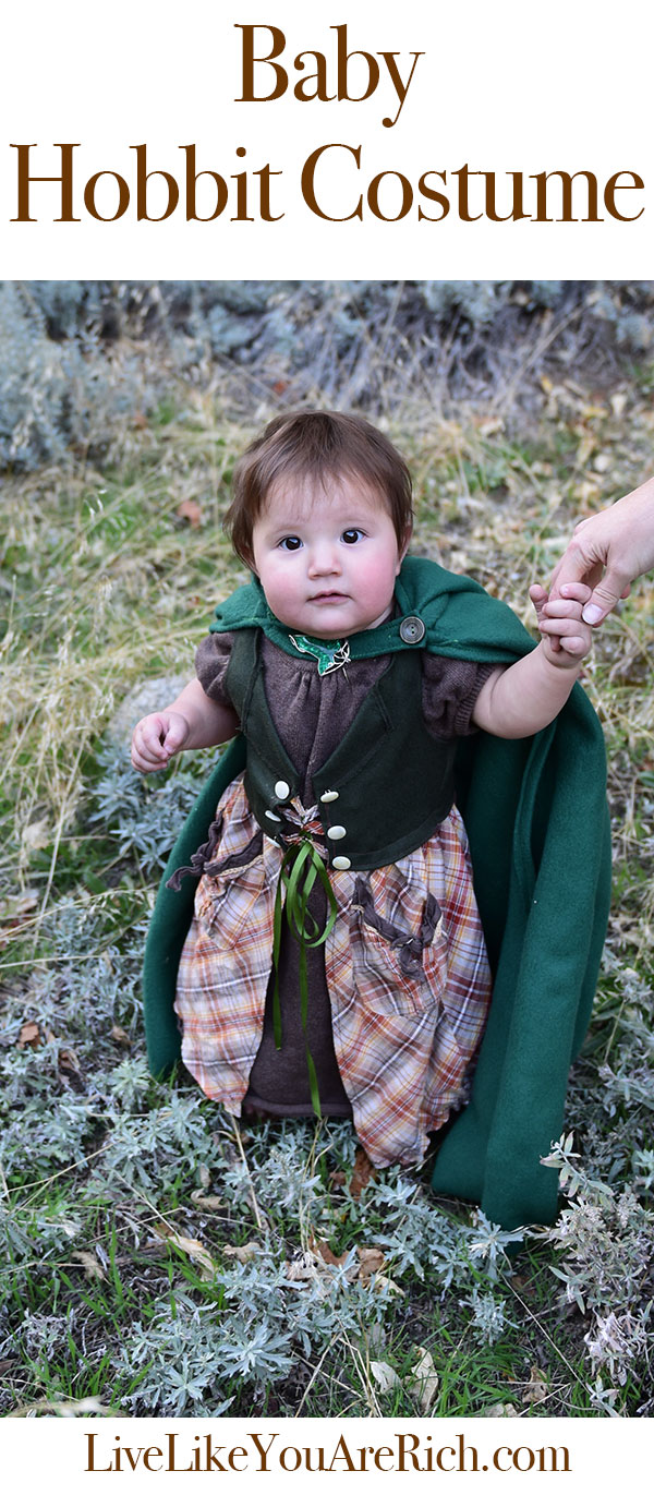 Baby Girl Hobbit Costume