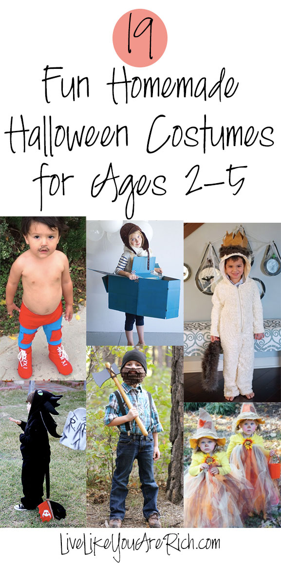 halloween-costumes for ages 2-5