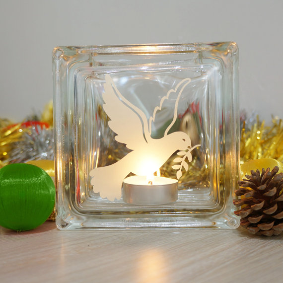 dove candle