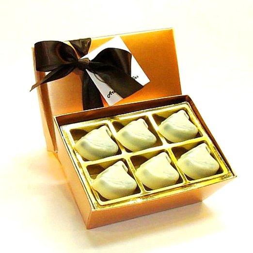 white chocolates