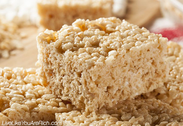 Homemade Rice Krispie Treats That Actually Taste Like Original Rice Krispie Treats