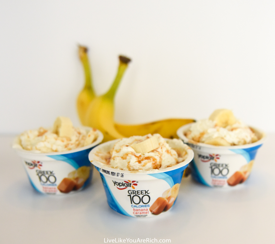High-Protein Banana Split Dessert