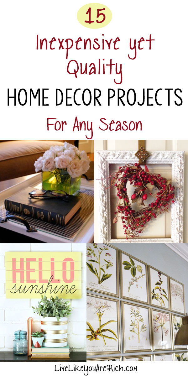 15 inexpensive yet quality home decor projects part 2 for Where can i find cheap home decor
