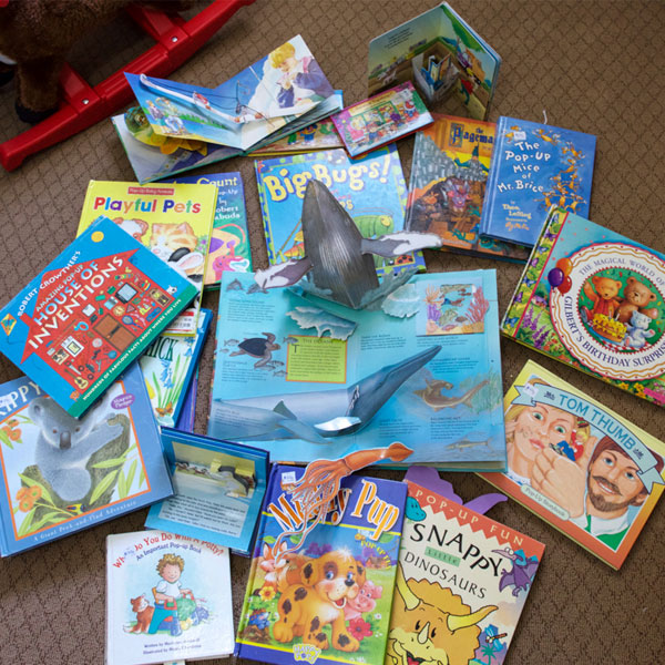 Types of Books That One to Two Year-Olds Love