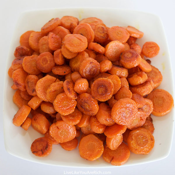 Caramelized Coconut-Infused Carrots