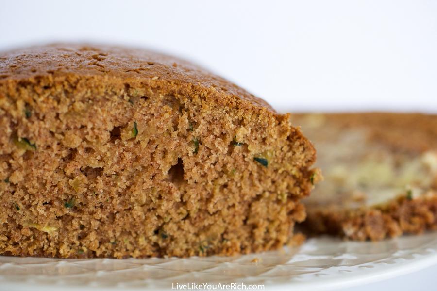 Zucchini Cinnamon Bread Recipe