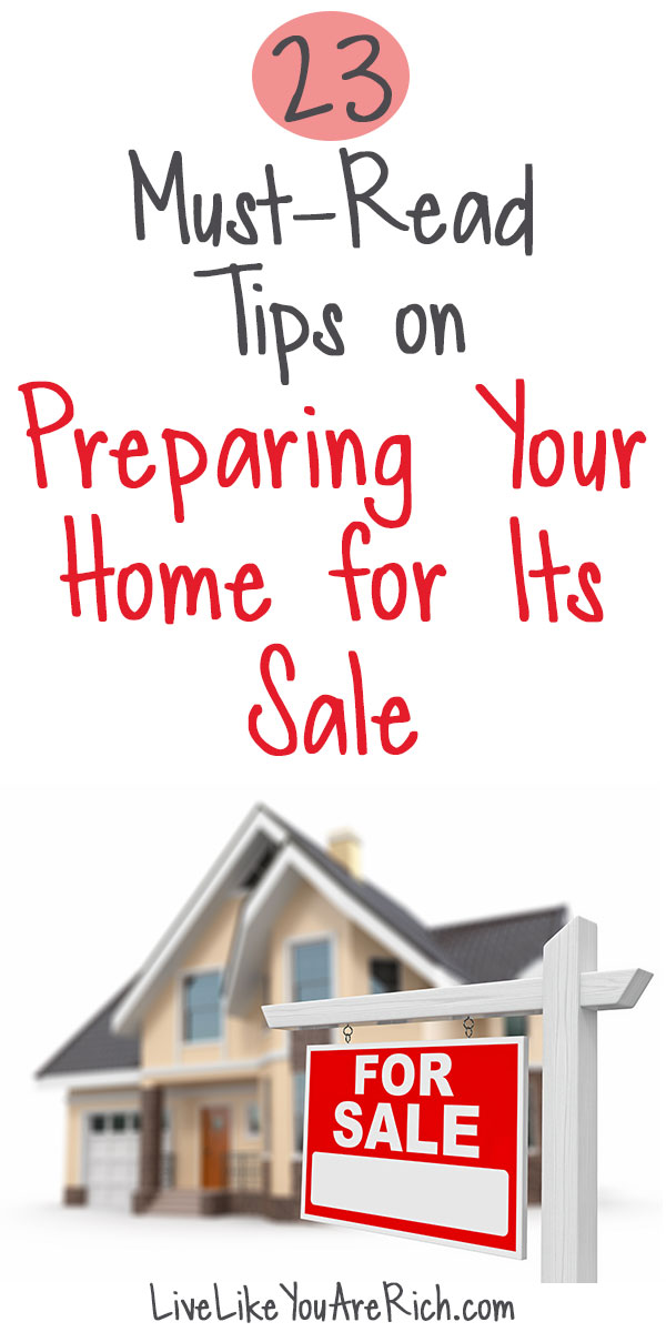 23 Must-Read Tips on Preparing Your Home for Its Sale