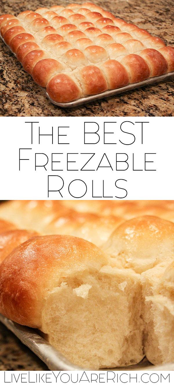 The BEST Freezable Rolls Recipe