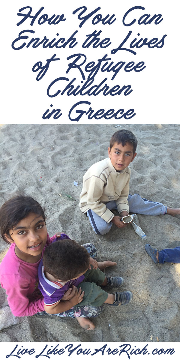 How You Can Enrich the Lives of Refugee Children in Greece