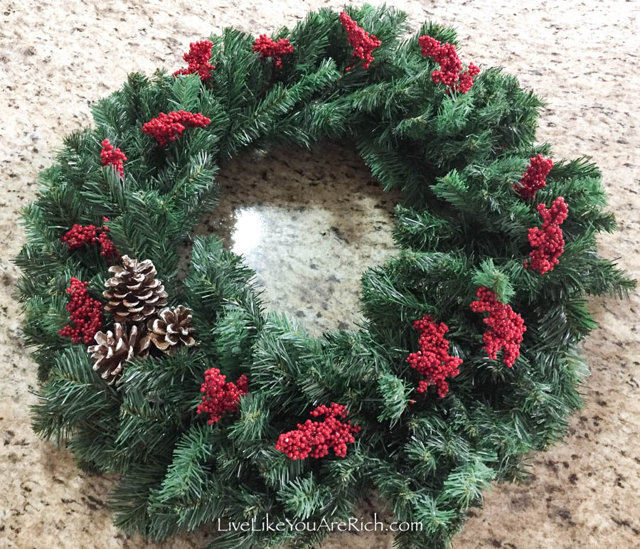 Christmas Holly Berry Wreath