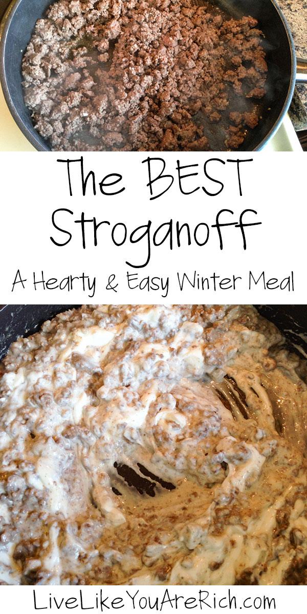 The BEST Stroganoff—Turkey or Beef