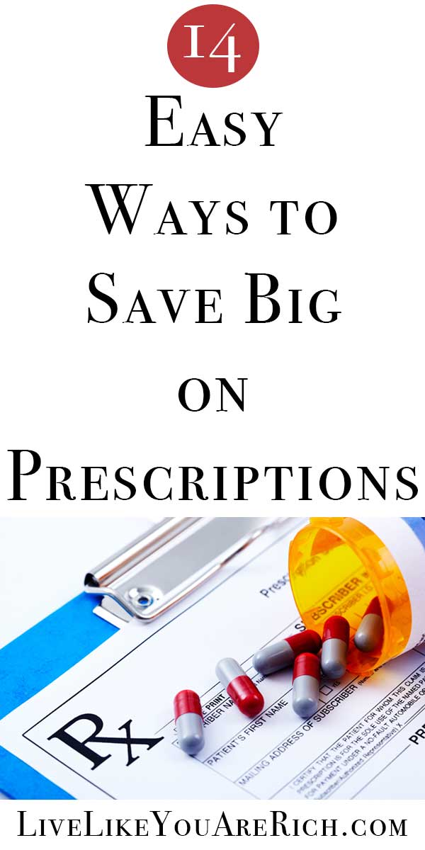 14 Easy Ways to Save Big on Prescriptions