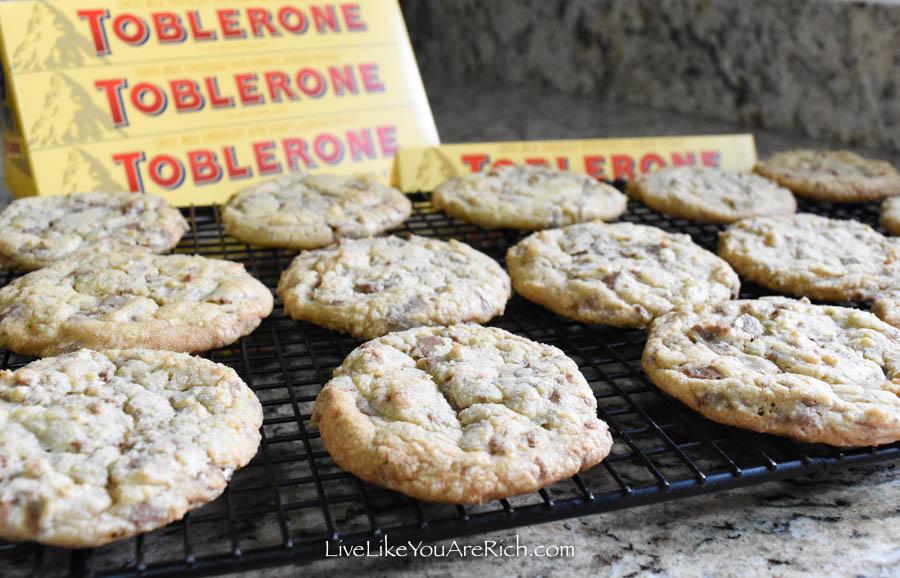 Toblerone Cookies