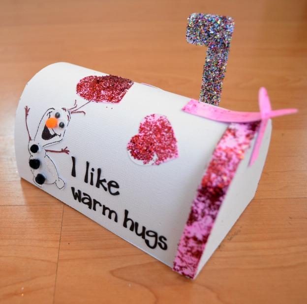 frozen valentines box