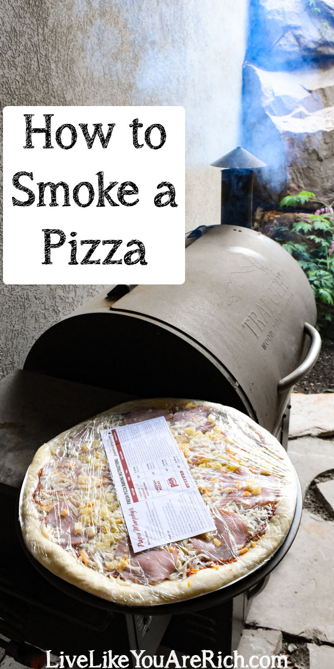 How to Smoke a Papa Murphy's Pizza