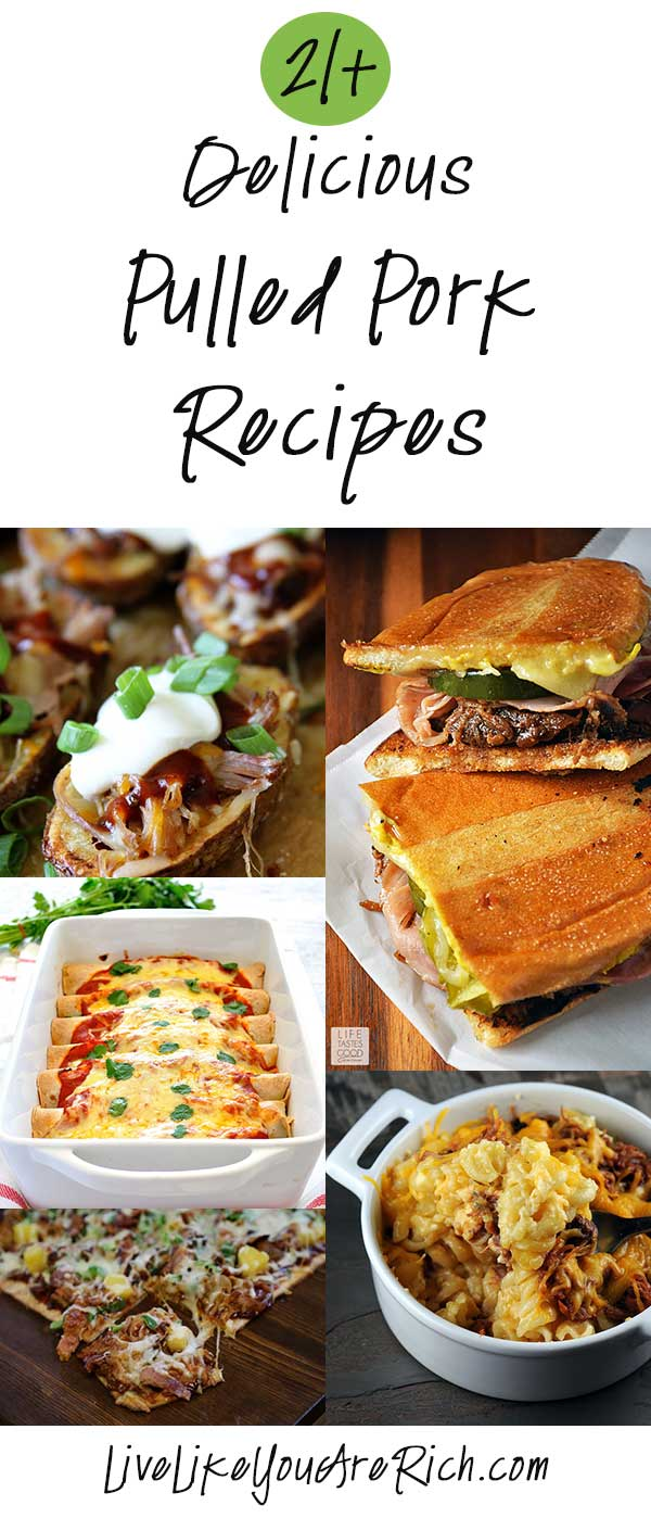 21+ Delicious Pulled Pork Recipes