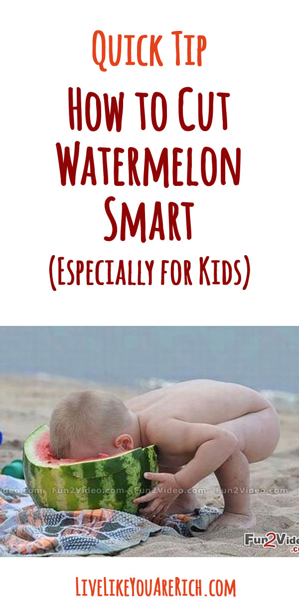 How to Cut Watermelon Smart