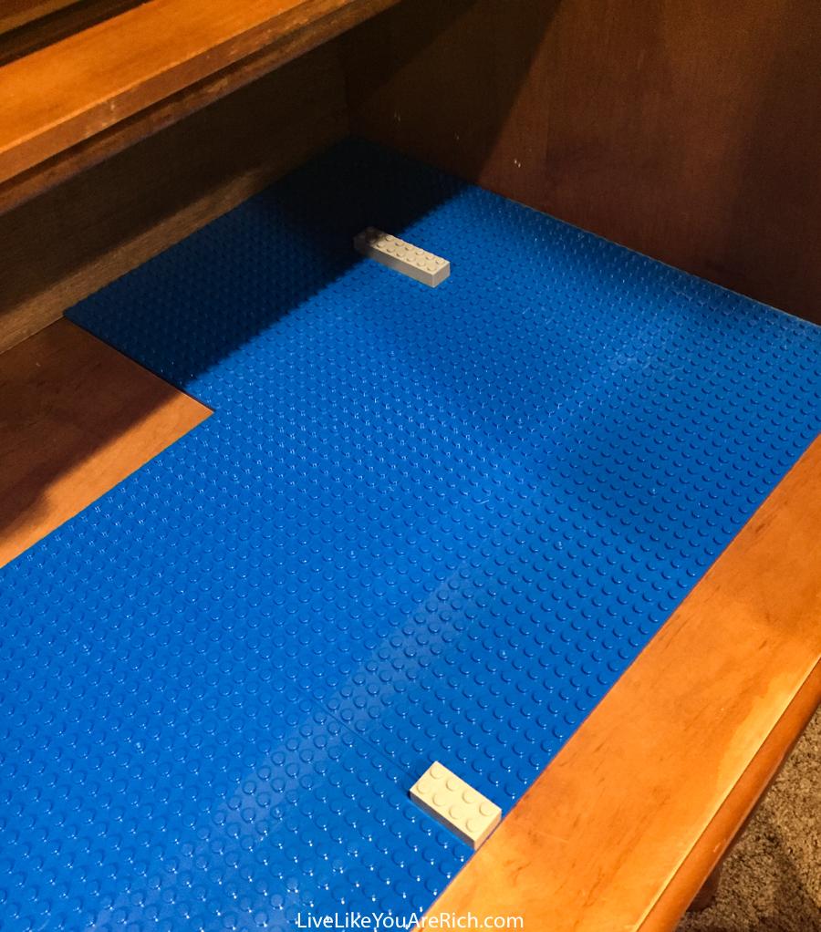 DIY Lego Roll Top Desk